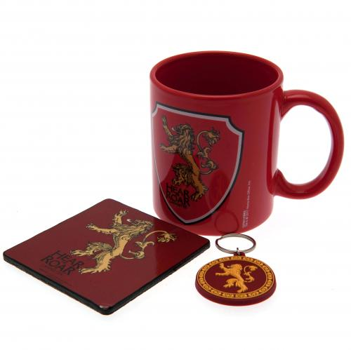 Game Of Thrones Mug & Coaster Set Lannister