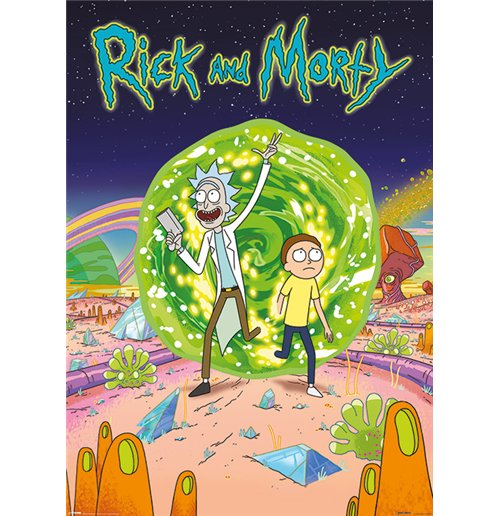 Rick and Morty Poster 291945