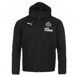 2017-2018 Newcastle Puma Performance Rain Jacket (Black)