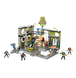 Teenage Mutant Ninja Turtles Mega Bloks Construction Set Lair Hideout