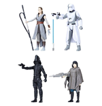 Star Wars Episode VIII Force Link Action Figure 4-Pack 2018 Battle on Crait 10 cm