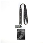 Game of Thrones Lanyard with PVC Keychain House Stark 43 cm