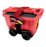 DISNEY Cars 3 My Creative Trolley with Creative Accessories Set, Red