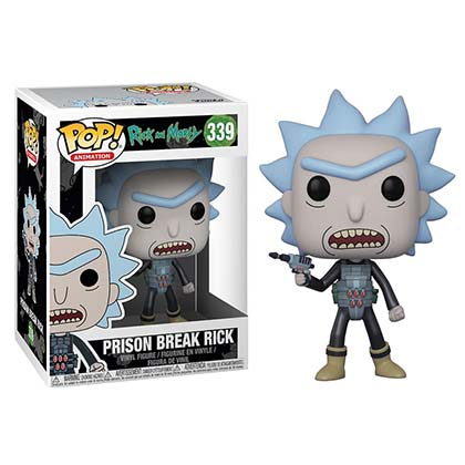 Rick And Morty Prison Break Rick Funko Pop Vinyl Figure