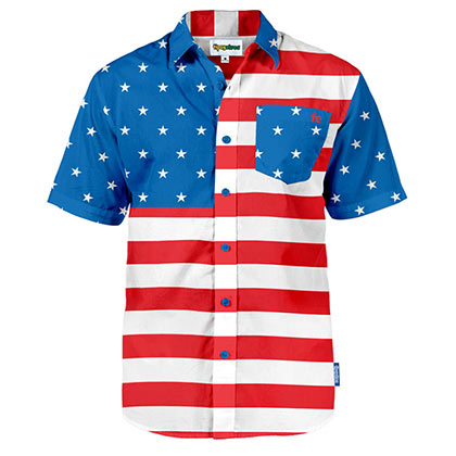 USA Hawaiian Shirt