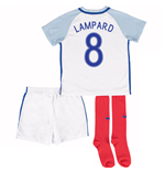 2016-17 England Home Little Boys Kit (Lampard 8)
