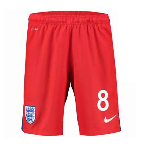 2016-17 England Away Shorts (8) - Kids