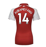 2017-18 Arsenal Womens Home Shirt (Aubameyang 14)