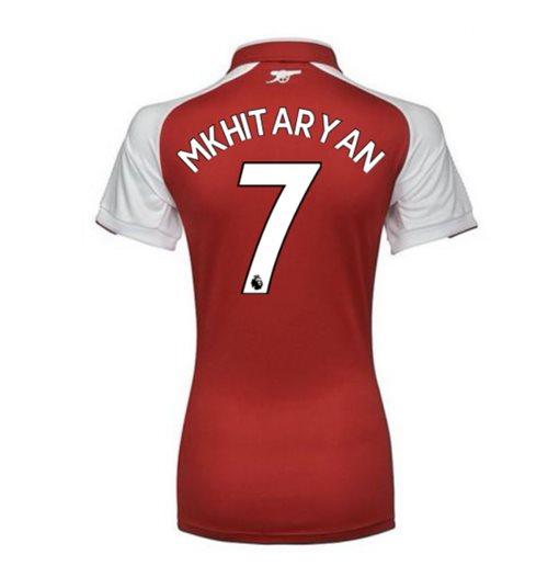 factory authentic cfb32 b779a 2017-18 Arsenal Womens Home Shirt (Mkhitaryan 7)