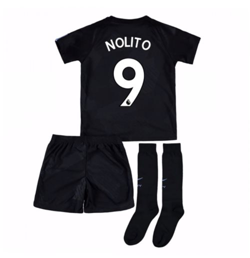 2017-18 Man City Third Mini Kit (Nolito 9)