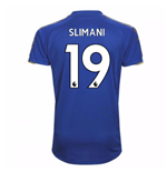 2017-18 Leicester City Home Shirt (Slimani 19)