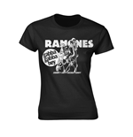 Ramones T-shirt Gabba Gabba Hey Cartoon