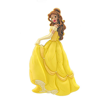 BEAUTY AND THE BEAST Soft Touch Belle Magnet