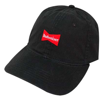 BUDWEISER Black Washed Dad Hat