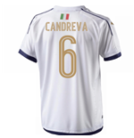 2006 Italy Tribute Away Shirt (Candreva 6)