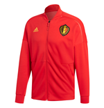2018-2019 Belgium Adidas ZNE Knitted Anthem Jacket (Red)
