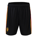 2018-2019 Belgium Away Adidas Football Shorts (Black)