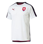 2018-2019 Czech Republic Puma Stadium Jersey (White)
