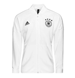 2018-2019 Germany Adidas ZNE Knitted Anthem Jacket (White)