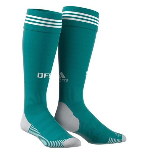 2018-2019 Germany Away Adidas Socks (Green)