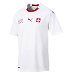 2018-2019 Switzerland Away Puma Football Shirt