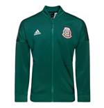 2018-2019 Mexico Adidas ZNE Knitted Anthem Jacket (Green)