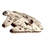Star Wars VI Return Of The Jedi Diecast Modell 1/18 Millennium Falcon Elite Edition