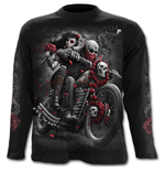 Dotd Bikers - Longsleeve T-Shirt Black