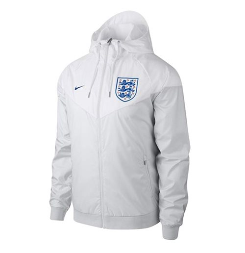 7deb2a34a1 Buy 2018-2019 England Nike Authentic Woven Windrunner Jacket (White)