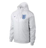 2018-2019 England Nike Authentic Woven Windrunner Jacket (White)