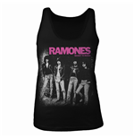 Ramones Tank Top Rocket To Russia