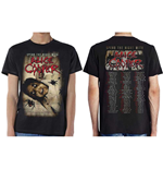Alice Cooper Men's Tee: Spend The Night With Spiders (Ex Tour/Back Print)