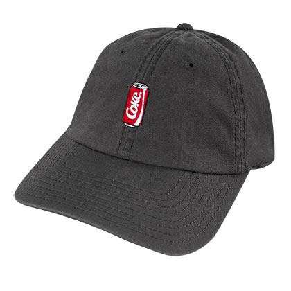 COCA-COLA Coke Mini Can Dad Dark Gray Hat