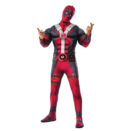 DEADPOOL Muscle Chest Adult Cosyplay Halloween Costume