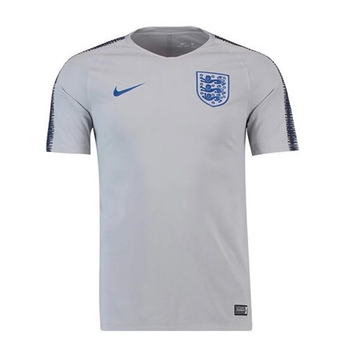 2018-2019 England Nike Training Shirt (Grey) - Kids
