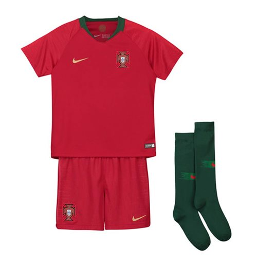 2018-2019 Portugal Home Nike Mini Kit