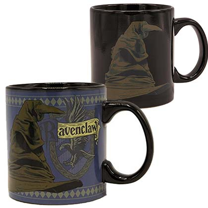 HARRY POTTER Sorting Hat Ravenclaw 20oz Color Heat Change Mug