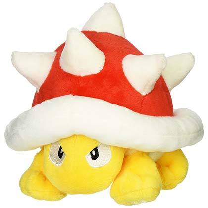 Super MARIO Bros. Spiny 5in Nintendo Plush Toy Doll