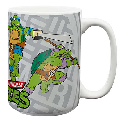 TEENAGE MUTANT NINJA TURTLES TMNT 15oz Coffee Mug