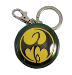 Marvel Comics Metal Keychain Iron Fist Logo