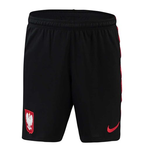 2018-2019 Poland Nike Squad Training Shorts (Black) - Kids