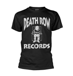 Death Row Records T-shirt Logo (BLACK)