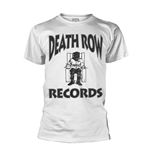 Death Row Records T-shirt Logo (WHITE)