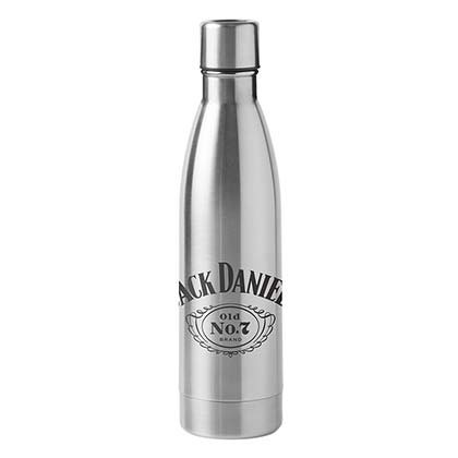 Jack Daniel's 16oz Stainless Steel Ultra Travel Bottle