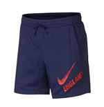 2018-2019 England Nike Core Flow Woven Shorts (Navy)
