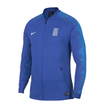 2018-2019 Greece Nike Anthem Jacket (Blue)