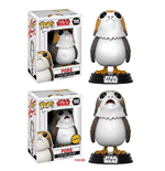Star Wars Episode VIII POP! Vinyl Bobble-Head Figures Porg 9 cm Assortment (6)