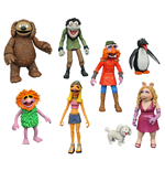 The Muppets Select Action Figures 13 cm 2-Packs Series 3 Assortment (6)