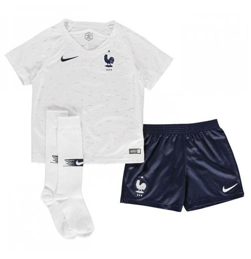 2018-2019 France Away Nike Little Boys Mini Kit
