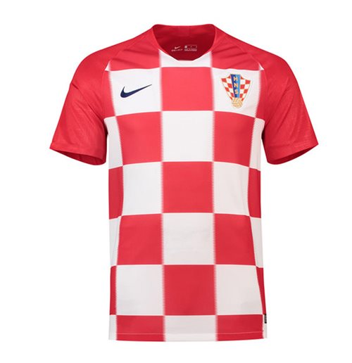 2018-2019 Croatia Home Nike Football Shirt